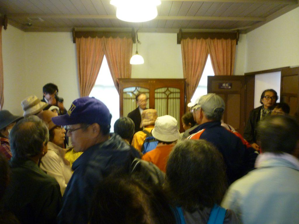 五輪峠の古道探訪会
