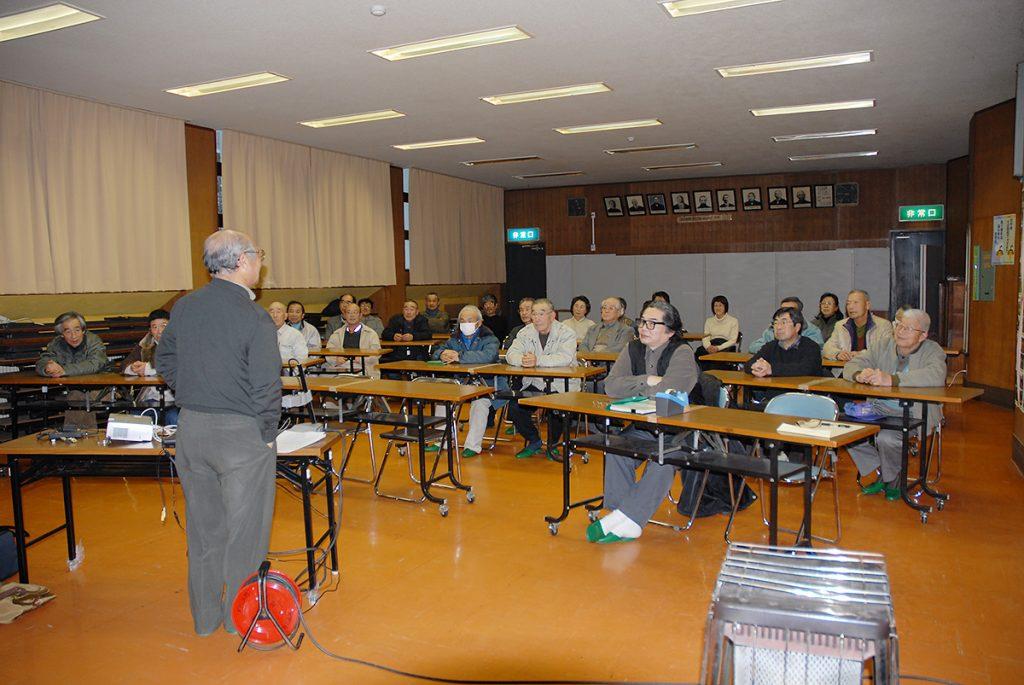 第6回講演会「人首の地質と宮沢賢治」01
