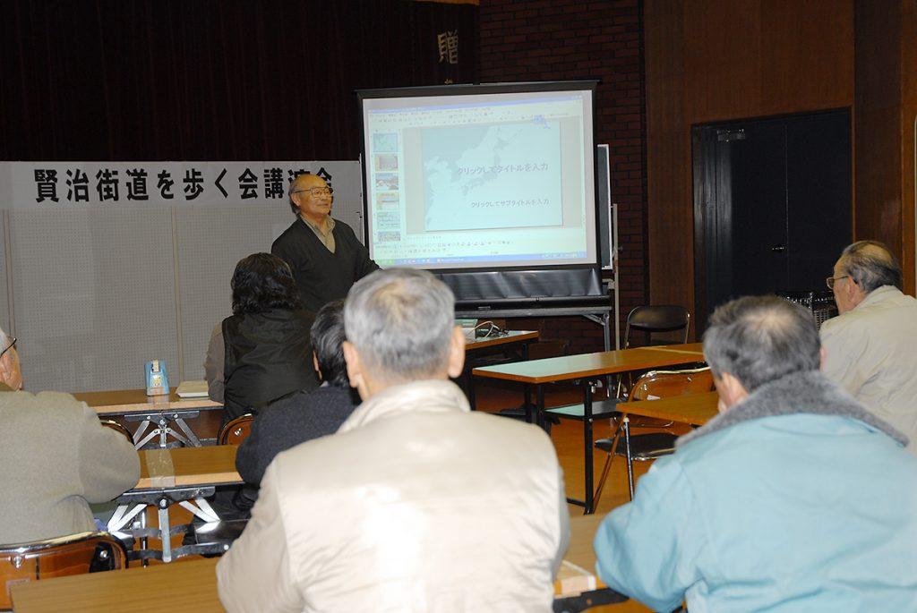 第6回講演会「人首の地質と宮沢賢治」02